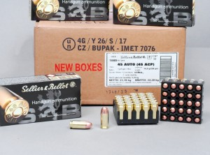 45 ACP  Sellier&Bellot   230 grs